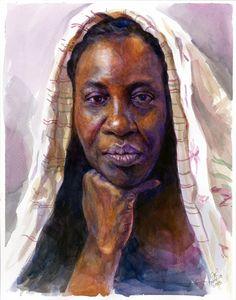 Watercolor-Karen-Nov-30-2015 by grobles63