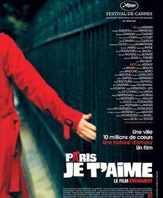 Fiche pédagogique - Paris Je t'aime film collectif - Niveau - A partir de A2 - Enseigner le francais langue étrangère - ressource FLE Gratuite.