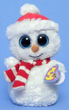 TY Beanie Boo Large Tinsel the Snow Owl Soft Toy ... 56ddc389b1cc