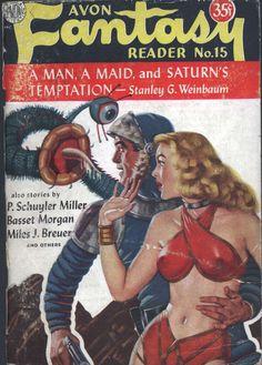 Comic Book Cover For Avon Fantasy Reader 15