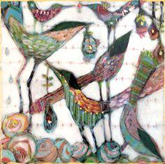 Gretchen Weller Howard. Series of similar works; each one tasty!