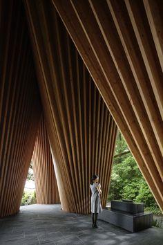 Sayama Forest Chapel | Hiroshi Nakamura & | Saitama, Saitama Prefecture, Japan