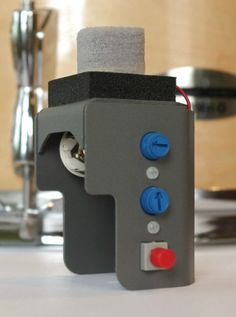 one foam cone trigger for diy electronic drum electronic drum triggers pinterest diy. Black Bedroom Furniture Sets. Home Design Ideas