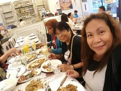Business meeting with Mamadel and Momshie Hilary @Crisostomo's UP Town Centre