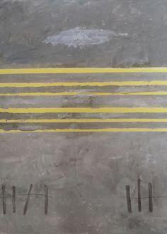 Grey abstract by Elizabeth HAJDUN