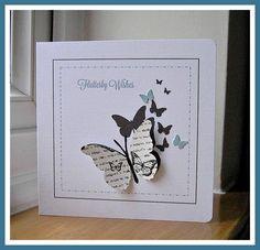 Multi Butterfly card - bjl