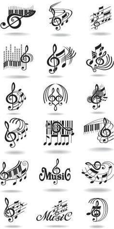 ノート、リシアF. Bernabeの音楽スタッフと高音部記号ベクトル