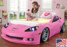 This Is The Coolest Bed Ever! Wish They Made A Corvette Bed When I Was