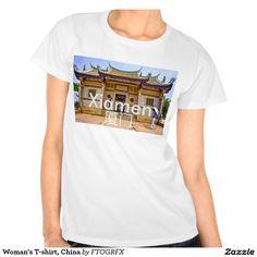 Woman's T-shirt, China