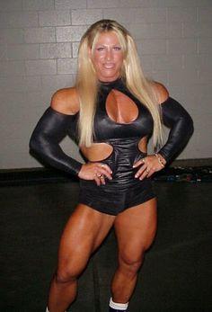 Bodybuilder Christi Wolf aka Asya from WCW