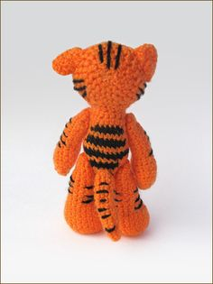 Вяжем тигренка - Ярмарка Мастеров - ручная работа, handmade