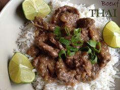 Bœuf thaï sauce huitre citron vert
