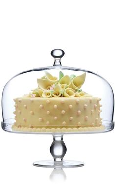 Luigi Bormioli Michelangelo Footed Cake Plate with Domed Cover Yellow Cottage, British Baking, Cinnamon Spice, Cream Wedding, Fake Food, Change Is Good, Buttercream Frosting, Icing, Eat Dessert First
