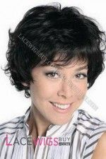 """8"""" Curly #1 Lace Front Wigs 100% Indian Remy Human Hair [LFRCY1310]"""