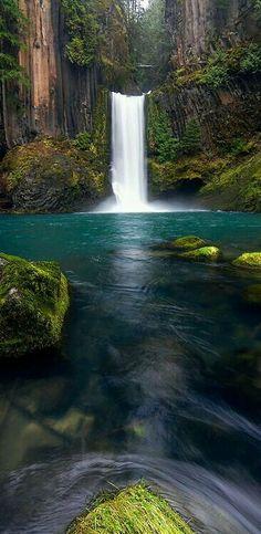Toketee Falls, Oregon | by Skyler Hughes on Flickr http://PinterestBob.net