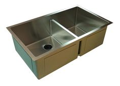 """Create Good ½"""" Radius Sinks have eliminated the ugly drain seams creating a pure, flawless sink basin -Winner at KBIS"""