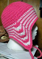 Ravelry: Easy Peasy Ear Flap Hat Pattern pattern by Julee Reeves
