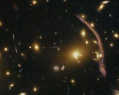 Long After Einstein, Cosmic Lensing Reaches Its Full Potential How Hubble is taking advantage of Einstein's theories to study the most distant galaxies. A hundred years ago, Albert Einstein introduced a radical new way of thinking about the force of gravity. His general theory of relativity posited that space is not an empty arena in which the events of the universe play out—but an active participant in those events. According to general relativity, anything that has mass—a star, a
