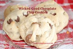 The kind of chocolate chip cookie you've always wanted to make but couldn't figure out.  madefrompinterest.net  #chocolatechipcookie
