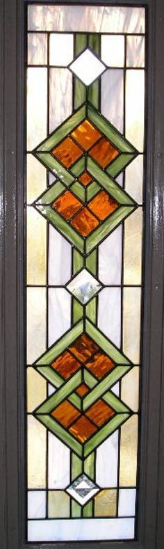 Image result for craftsman style stained glass patterns