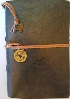 Grey I Ching Bamboo Journal