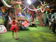 My inspiration: Pixie Hollow at Magic Kingdom. If only I could have the Imagineers come decorate my room. Girls Fairy Bedroom, Fairy Room, Backdrop Decorations, Backdrops, Attraction World, Vintage Garden Parties, Butterfly Project, Enchanted Fairies, Pixie Hollow