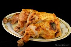 Caesar Marinated Chicken Leg Quarters made with on hand ingredients and served with cold sliced tomatoes this was an easy three ingredient dinner Pellet Grill Recipes, Smoker Recipes, Grilling Recipes, Marinated Chicken, Grilled Chicken, Chicken Leg Quarters, Outdoor Oven, Sliced Tomato, Chicken Legs