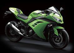 The new 2013 Kawasaki Ninja 250.
