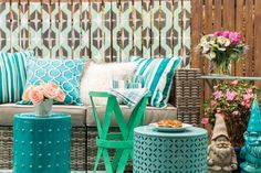 12 Patio Decorating Ideas for Spring and Summer | Deck, Porch and Patio Ideas  | HGTV