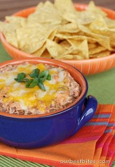 Quick and Easy Mexican Dip - Our Best Bites