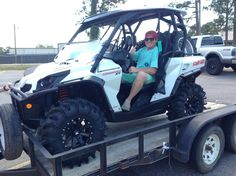 Thanks to Joseph Byrd from Sumrall MS for getting a 2015 Can-Am Commander XT 800 at Hattiesburg Cycles.