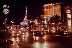 Vegas Night II - Paintography