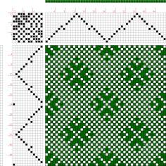 Hand Weaving Draft: Page 137, Figure 17, Bindungs-Lexikon für Schaftweberei, Franz Donat, 12S, 12T - Handweaving.net Hand Weaving and Draft Archive