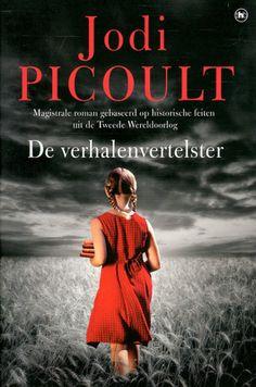 De verhalenvertelster - Jodi Picoult. Een beminnelijke hoogbejaarde Duitser bekent aan een Amerikaanse, die net haar moeder heeft verloren, dat hij vroeger een nazi is geweest en vraagt of zij hem wil helpen uit het leven te stappen.