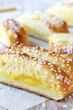 Braided Lemon Bread Recipe