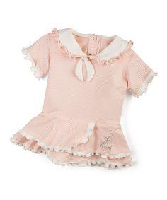 Love this Pink Pretty Sailor Dress on #zulily! #zulilyfinds