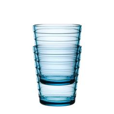 Aino Aalto Glass Blue Set Of 2 now featured on Fab.