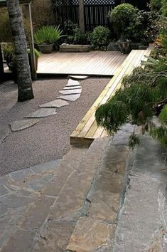Contempirary terrace Gardens Realised, Landscaping New Zealand Members for professional landscape design and landscape construction Modern Landscape Design, Modern Landscaping, Landscape Architecture, Backyard Landscaping, Nice Landscape, Landscaping Ideas, Back Gardens, Outdoor Gardens, Garden Spaces