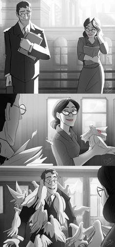TF2- Paperman PaulingxMedic by MadJesters1 (I love the original Paperman, this is just ten times better<3 <3 )