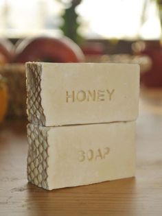 Rustic Soap with chestnut honey.