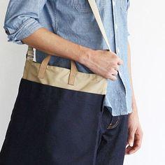 Poketo Eric Daily Bag - Navy
