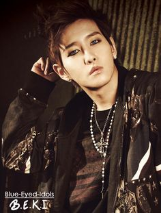 BLUE EYED K-POP IDOLS: #406  Lee Minhyuk (B-Bomb) - Block B