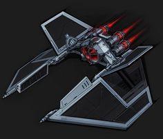 Amazing tie fighter concept