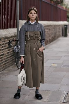 75 streetstyle images of the Fashion Week in London | Vogue Ukraine