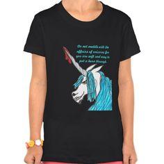 do not meddle with unicorns T shirt