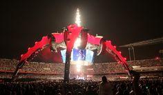 U2 360º Tour at Morumbi Stadium, São Paulo, Brazil, 2011.