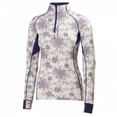 W HH WARM FLOW HIGH NECK 1/2 Z - Women - Base layer - Helly Hansen Official Online Store