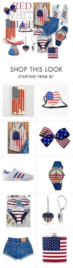 """INDEPENDENCIA VERANIEGA"" by yeilow on Polyvore featuring moda, adidas Originals y Boum"