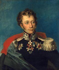 Vasily D. Ilovaisky (1828, Musée de l'Ermitage, Saint-Pétersbourg) de George Dawe (1781-1829)