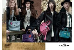 Stuart Vevers and Steven Meisel Partner for Coach's Fall Ad Campaign